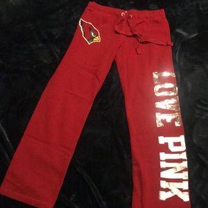 Victoria Secret PINK sweatpants / Az Cardinals